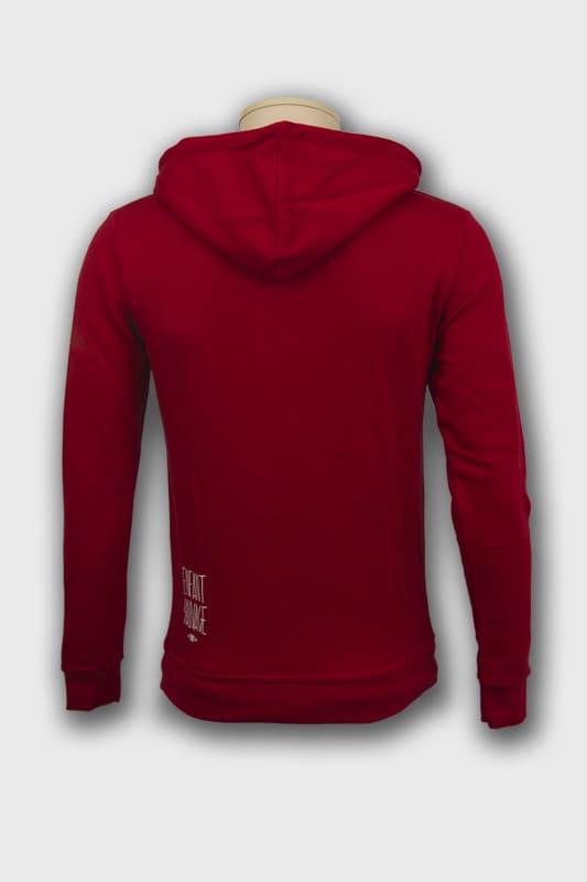 enfant-sauvage-veste-hoodi-wolf-rouge-paris boutique streetwear vetements de sport