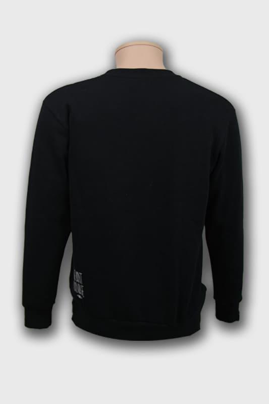 sweat-roundneck-wolf-noir-vue-de-dos boutique streetwear