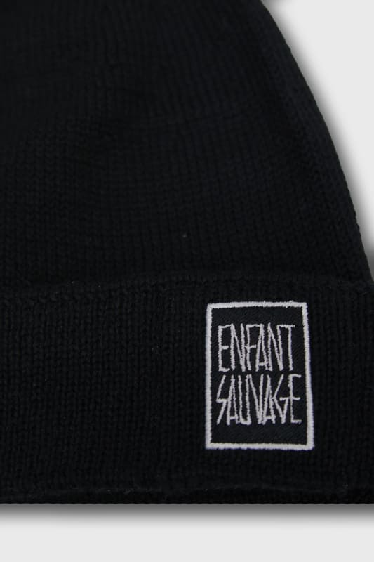 beanie-authentique-merino-enfant-sauvage-logo-face-avant