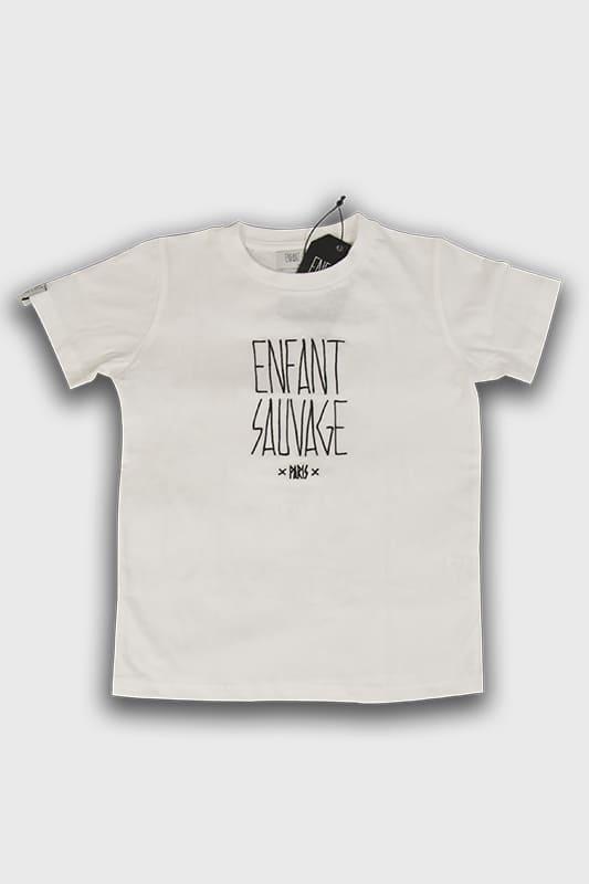 enfant-sauvage-tee-shirt-authentique-enfant-blanc