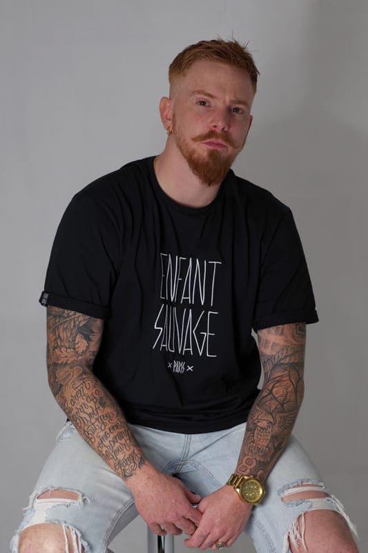 enfant-sauvage-tee-shirt-old-oversize-noir-detail-logo-marque
