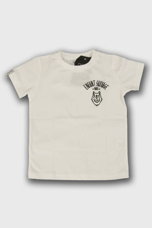 enfant-sauvage-tee-shirt-wolf-child-style-blanc boutique streetwear pret a porter vetements de sport