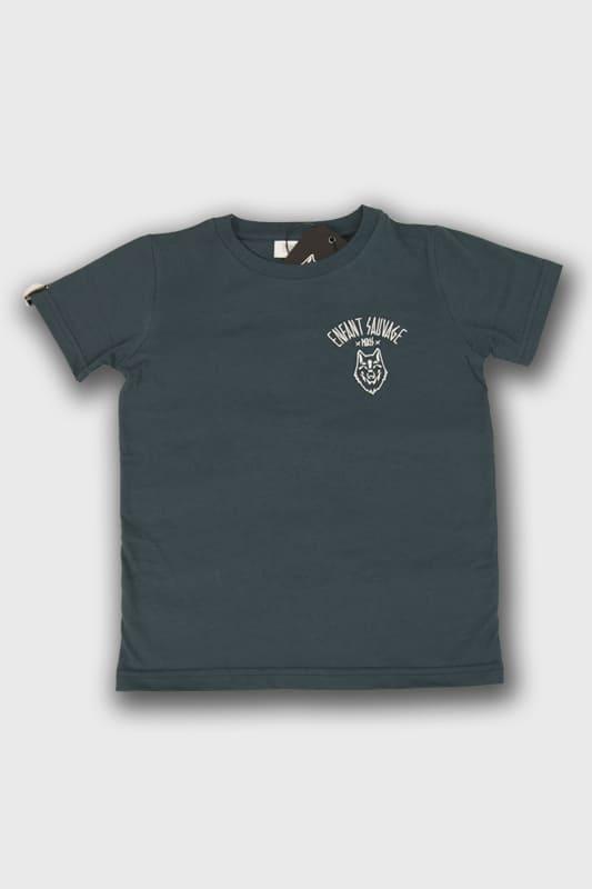 enfant-sauvage-tee-shirt-wolf-child-style-marine boutique streetwear pret a porter vetements de sport