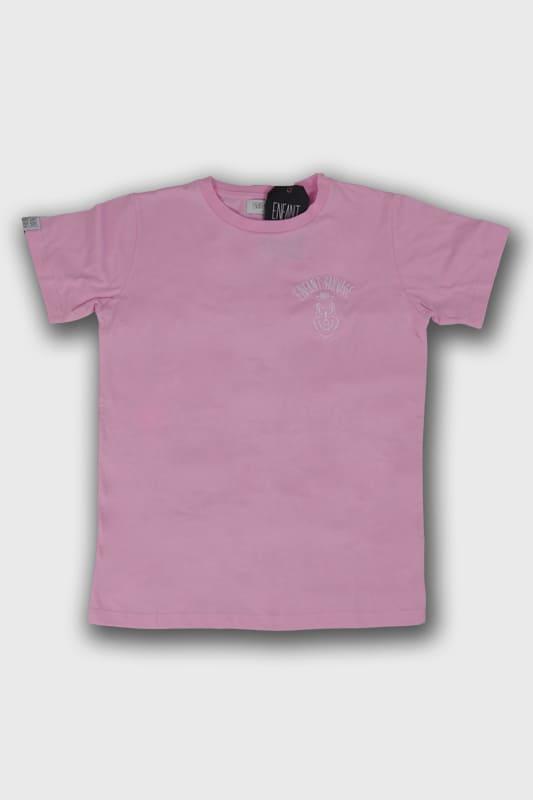enfant-sauvage-tee-shirt-wolf-child-style-rose boutique streetwear pret a porter vetements de sport