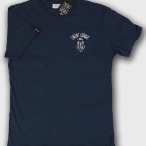 enfant-sauvage-tee-shirt-wolf-style-marine boutique streetwear pret a porter vetements de sport