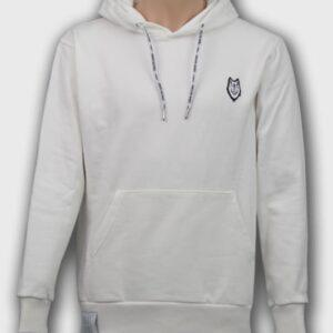 hoodie-premium-wolf-blanc-enfant-sauvage-paris boutique streetwear