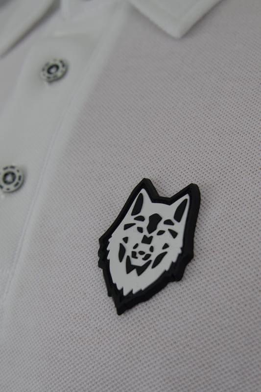 polo wolf blanc marque boutique en ligne streetwear pret a porter
