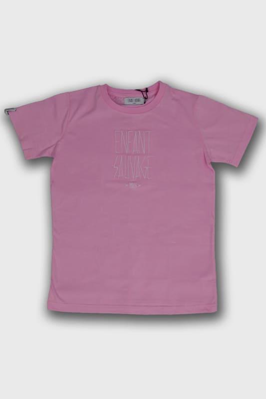 t shirt authentique child rose blanc manches courtes boutique en ligne streetwear