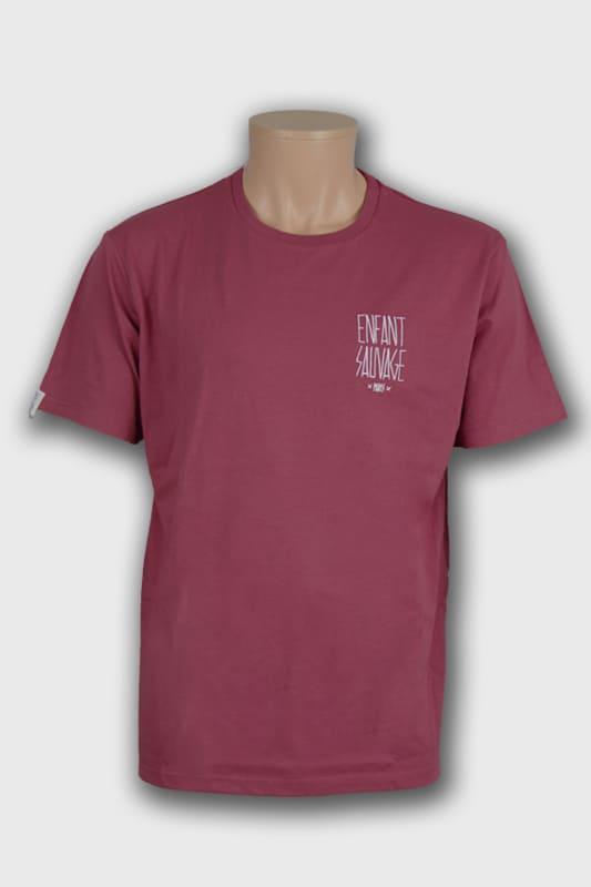 t shirt classic 100 bio bordeaux manches courtes boutique en ligne streetwear