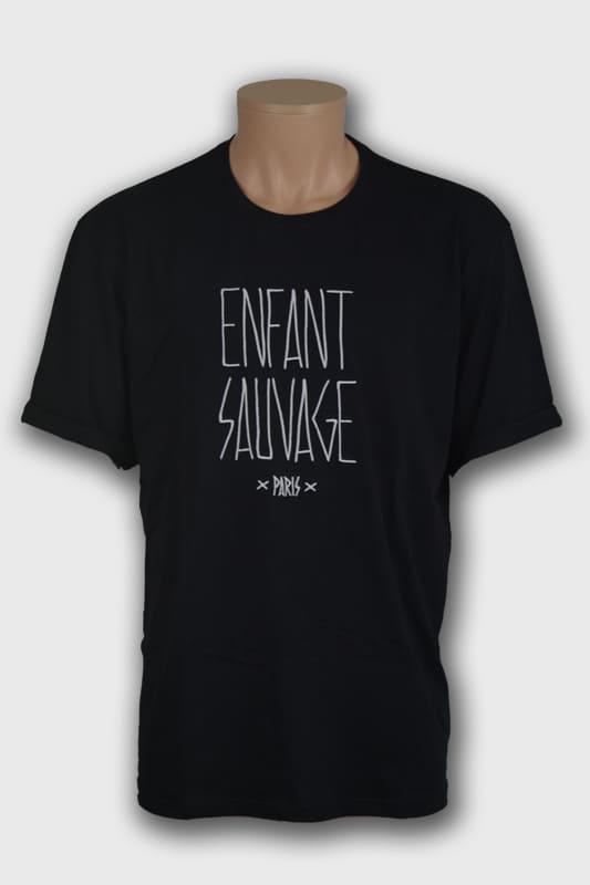 t shirt old oversize noirmanche courtes wolf boutique steetwear influences de la rue